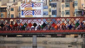 El riu Onyar de Girona PRENDRÀ MÉS PROTAGONISME EN L'EDICIÓ D'AQUEST 2015 DE GIRONA, TEMPS DE FLORS MANEL LLADÓ