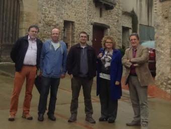 """La delegació de MES que ha visitat municipis de l'Alt Empordà i que ha detectat 14 llistes """"fantasma"""" EPA"""