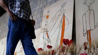 Dibuixos realitzats per la fundació Astrid 21.  MANEL LLADÓ