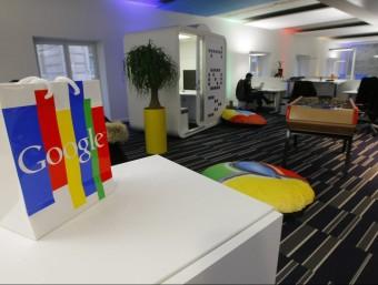 La Comissió Europea reclama a Google, a la imatge la seva seu europea als afores de París, una multa de 5.660 milions.  Foto:REUTERS