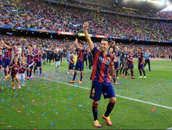 Els èxits del Barça fan més gran l'organització xarxa.  ARXIU /JUANMA RAMOS