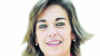 Concepció Veray, cap de llista del PP a Girona Manel Lladó