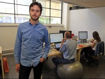 Marc Macià és un dels socis fundadors de NociCap.  Foto:JUANMA RAMOS