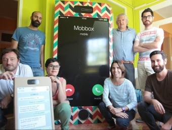 El projecte Mobbox és una idea de l'agència Pier Comunica.  JUDIT FERNANDEZ