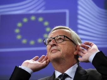 El president de la Comissió Europea, Jean Claude Juncker.  ARXIU /EFE