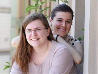 L'Alfonsina i la Sònia Vila han posat en marxa Sensible-Vip.  Foto:ANDREU PUIG