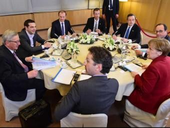 Alexis Tsipras, que va participar en la reunió el 19 de març, demana comprensió a Brussel·les.  ARXIU