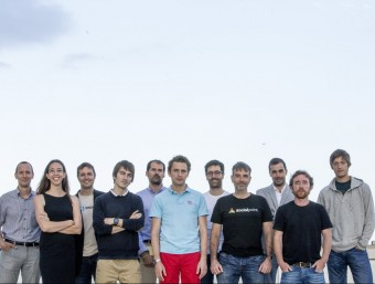 Montserrat (Clinic Point), Pi (Holaluz), De los Pinos (Smadex), Abadías (GymForLess), Macià (Force Manager), Bassols (Social Point), Beumala (Marfeel), Lecha (Social Point), Viñas (Transmural Biotech), Michaud (Glovo) i Pierre (Glovo) Foto:L'ECONÒMIC