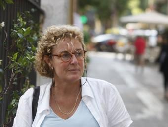 Magda Casamitjana , presidenta electa de Moviment d'Esquerres (MES), partit sorgit de l'escissió del PSC. X.M ORIOL DURAN