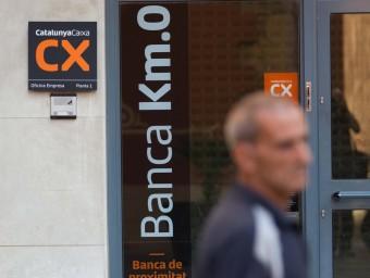 El sector financer espera més fusions  ARXIU/ JOSÉ CARLOS LEÓN