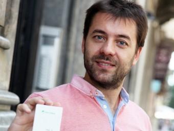 Alex Barberà va posar en marxa Mirubee el 2011.  ELISABETH MAGRE
