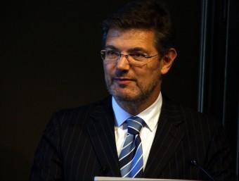 Rafael Catalá, ministre de Justícia ACN