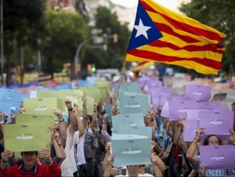 Assaig de la Via Lliure a Gràcia Albert Salamé
