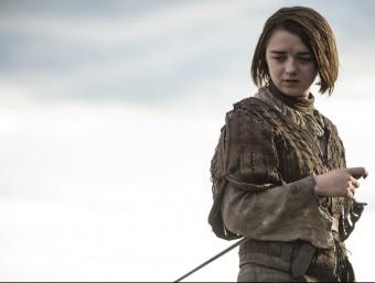 Arya Stark, un dels personatges de 'Joc de trons' CANAL +