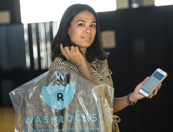 Elisabet Mas és la fundadora de Washrocks.  JOSEP LOSADA