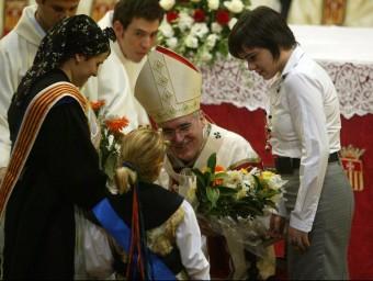 La missa solemne del dia dela Mercè i el seguici posterior es feien de fa 147 anys J.R/ARXIU
