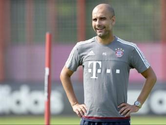 Pep Guardiola està vivint la seva tercera temporada com a entrenador del Bayern de Munic CHISTROF STACHE / AFP