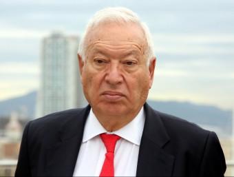 El ministre d'Afers Exteriors i Cooperació, José Manuel García Margallo, aquest dimecres 23 de setembre a Barcelona ACN