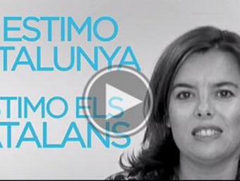Imatge de l'últim vídeo de campanya del PP