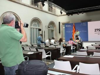 Últims preparatius del dispositiu per a la jornada electoral del 27-S ACN