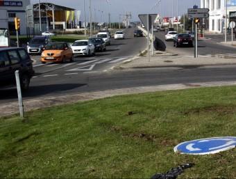 Lloc on es v a produir l'atropellament mortal d'ahir a Lleida ACN