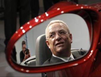 Martin Winterkorn va ser cessat la setmana passada com a primer executiu de Volkswagen MICHAELA REHLE / REUTERS