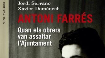 Antoni Farrés intervenint en un acte de l'Ajuntament de Sabadell l'any 1994 ROBERT RAMOS / ARXIU