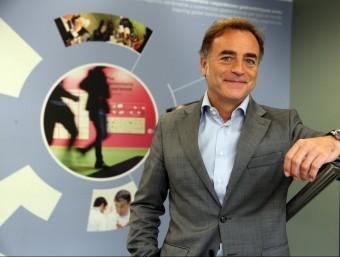 Antoni Valls, director general d'Alimentària Exhibitions.  Foto:ELISABET MAGRE