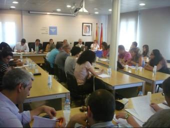 Imatge d'una sessió del ple del Consell Comarcal del Maresme LL.ARCAL