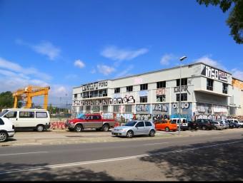 Part de la parcel·la del sector sud de la ciutat on es construirà al nova Clínica Girona, a tocar de la carretera de Barcelona. MANEL LLADÓ
