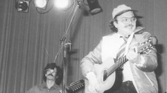 Gato Pérez en un concert ARXIU