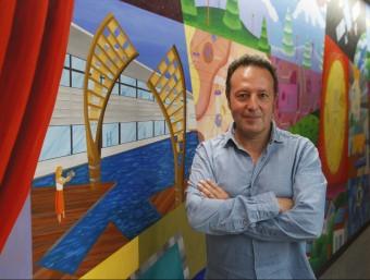 A la imatge, Pep Moreno, director general de Vortex.  Foto:ORIOL DURAN