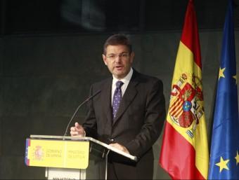 El ministre de Justícia, Rafael Catalá EP
