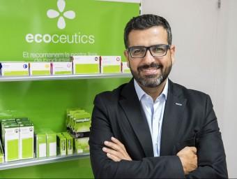 Oscar Garcia és el gerent d'Ecocèutics.  Foto:JOSEP LOSADA