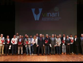 Els Vinari 2015 es van lliurar aquest divendres passat a a Vilafranca del Penedès VADEVI.CAT