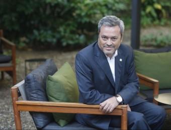 Juan Antonio Fernández, conseller delegat d'Unit4 Ibérica.  Foto:ORIOL DURAN
