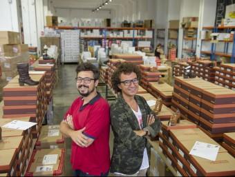 Guillem i Toni Badias, germans i socis de Zacaris.  Foto:DEFOTO / RAMON GABRIEL