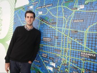 Jordi Pallarès és el fundador de MusicList.  Foto:ORIOL DURAN