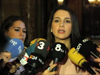 La cap de llista de Ciutadans a Catalunya, Inés Arrimadas ACN