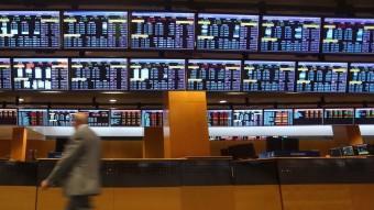 Una imatge d'arxiu de la Borsa de Barcelona QUIM PUIG