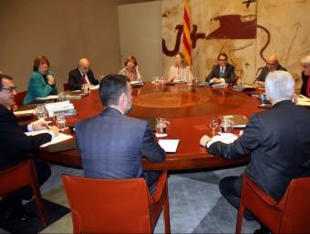 La reunió del consell executiu d'aquest dimarts 1 de desembre ACN