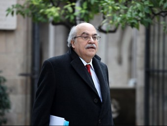El conseller d'Economia, Andreu Mas-Colell, en una imatge del febrer passat ELISABETH MAGRE