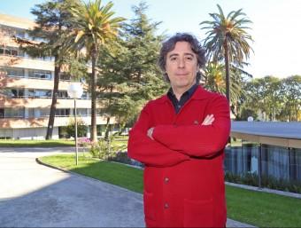 Jaume Rey, director general d'M2M Cloud Factory, al viver d'empreses de La Salle, on s'ubica la companyia.  JUANMA RAMOS