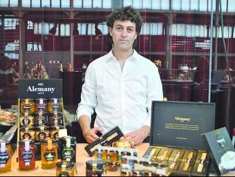 Ferran Alemany, cinquena generació de l'empresa d'Os de Balaguer.  ARXIU