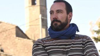El diputat Jaume Moya, a Florejacs, a la Segarra, on hi viu S. IGLESIAS