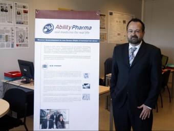 El cofundador d'Ability Pharmaceuticals, Carles Domènech.  ORIOL DURAN