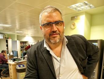 Sisco Sapena, director executiu de Lleidat.net.  ANDREU PUIG