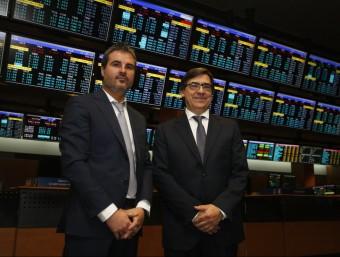 Manel Mauri i Carlos Soler han portat la companyia al mercat alternatiu per a pimes, el MAB.  ORIOL DURÁN