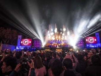 La festa de Cap d'Any de Barcelona A.SALAMÉ