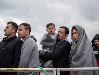 Les emigracions laborals s'han donat des de la gran guerra.  ARXIU/EP